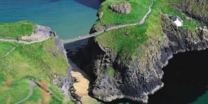 Antrim Coast, Glens of Antrim, Riverside B&B